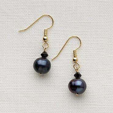Single or Double Drop Pearl Earrings